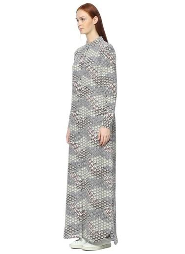 Gömlek Yaka Uzun Kollu Elbise-Equipment